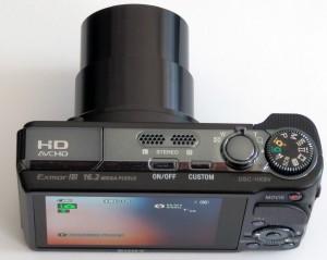 Unser Testsieger 2012: Die Sony CyberShot DSC-HX9V Digicam